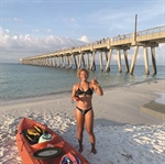 Lifeguard, Competitive Swimmer Completes Navarre Beach to Pensacola Beach Distance