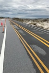 J. Earle Bowden Way, Highway 399, Temporarily Reopens