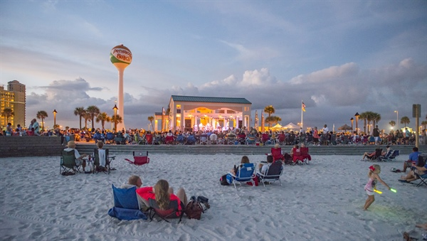 SRIA Announces Bands on the Beach Schedule